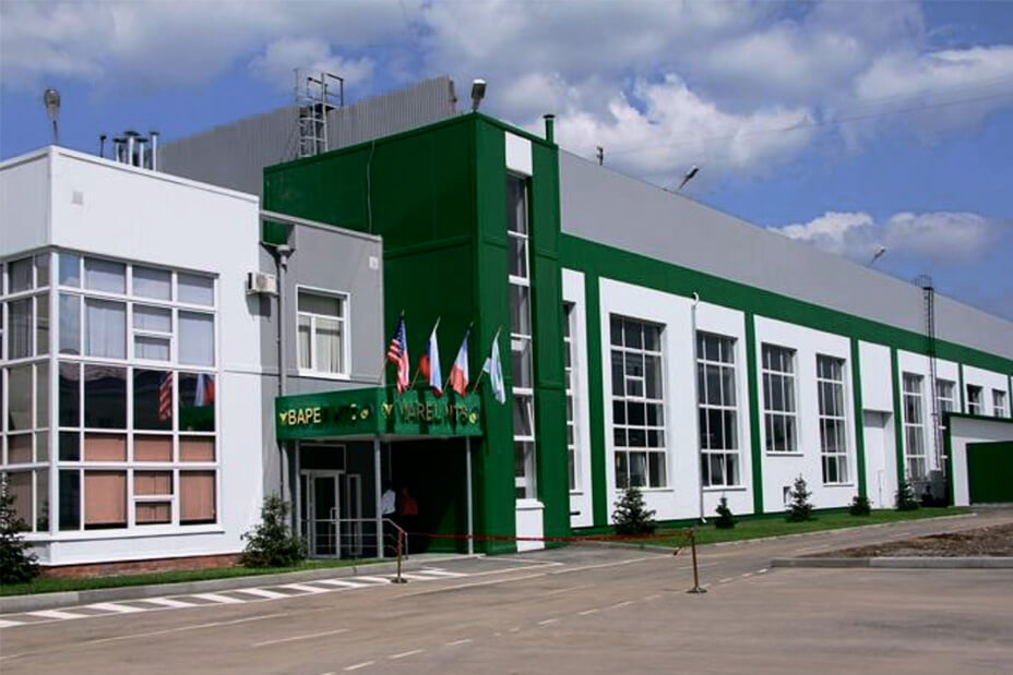 Varel NTS plant in Kurgan, Russia. Manufacturer of matrix and steel-body PDC drill bits.